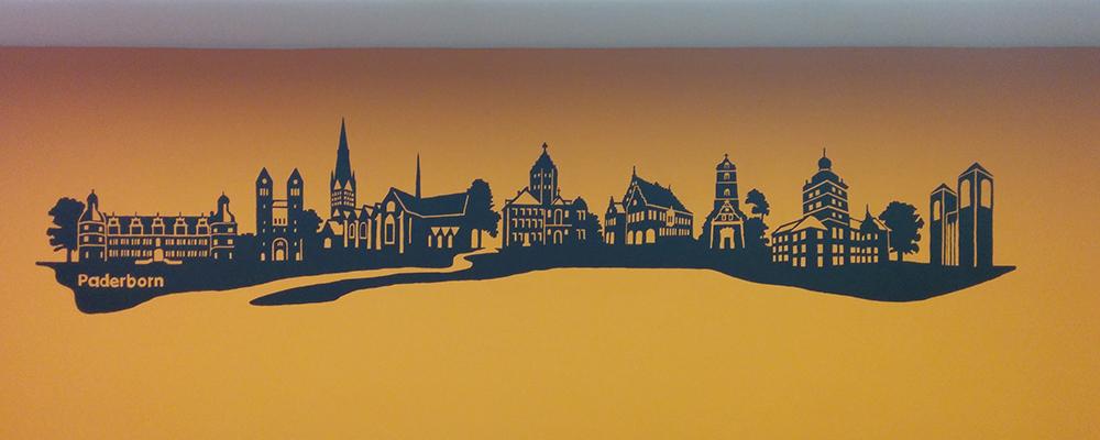 Umgestaltung des Pfarrheims St. Georg in Paderborn mit Skyline